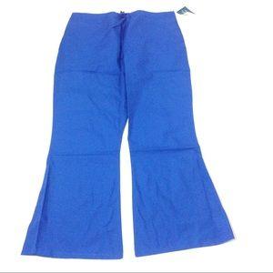New Women Scrub Pant Royal Blue XL